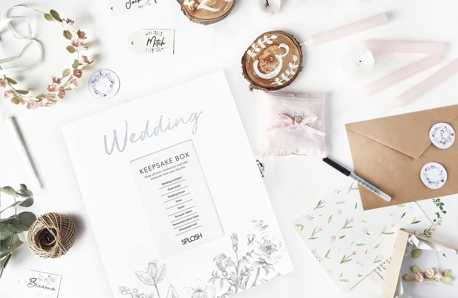 Gifts and décor for your special day