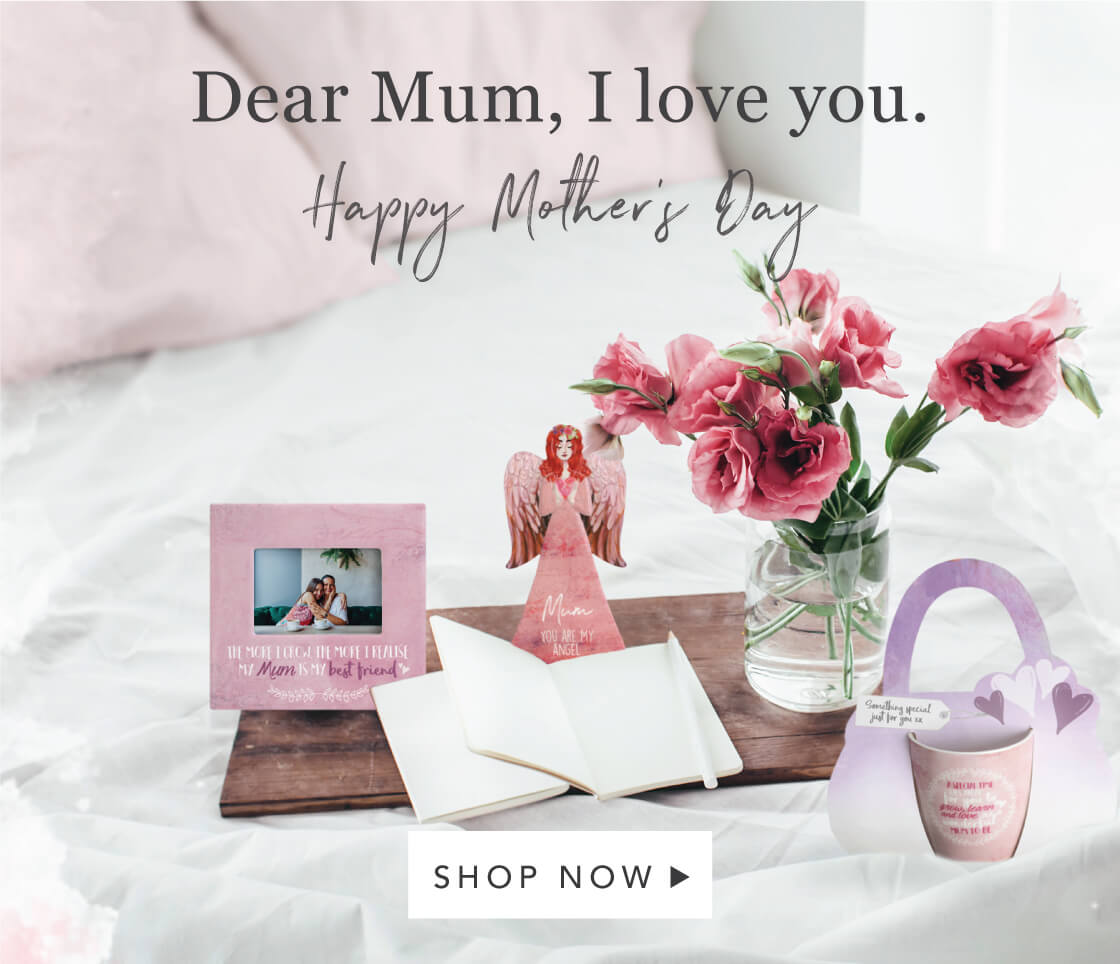 Find the perfect gift for Mum this Mother's Day.