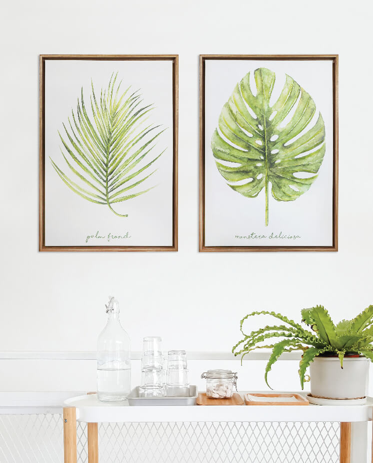 Textured canvases for your home