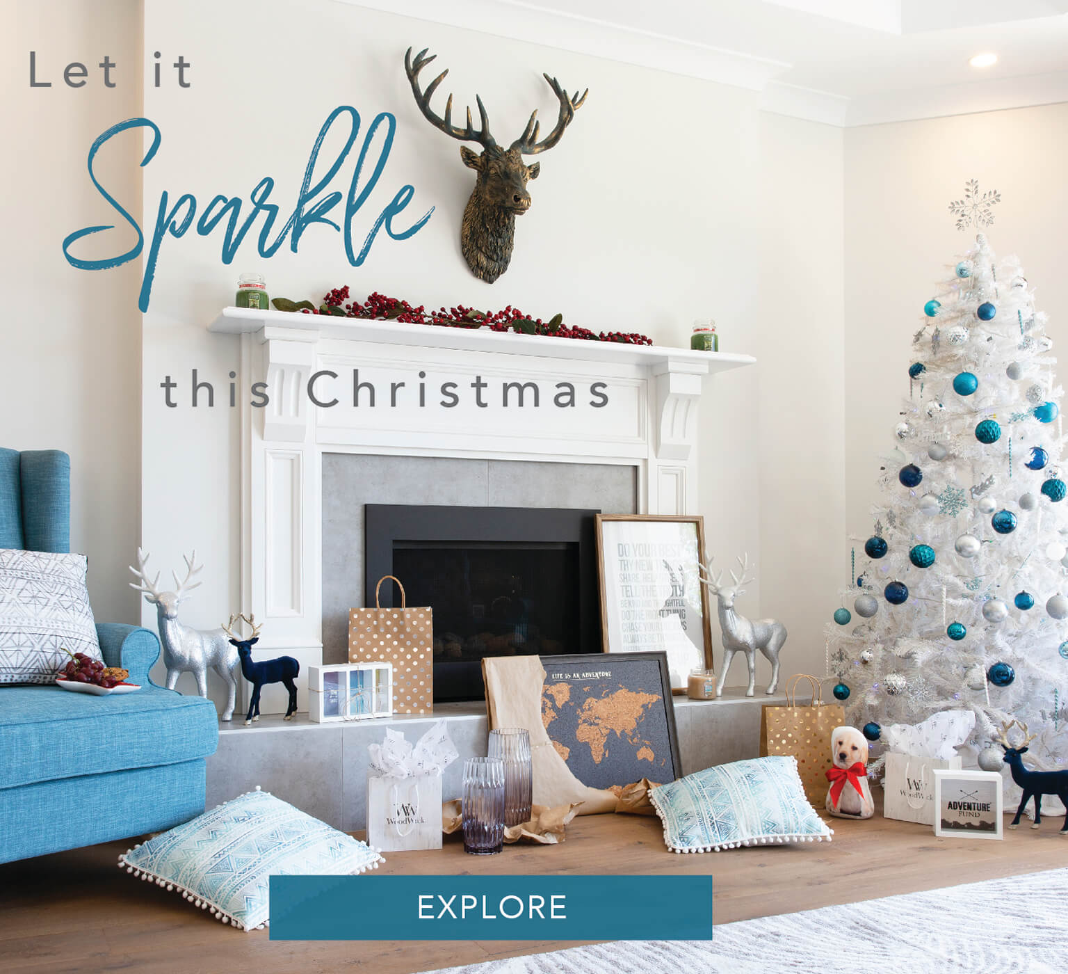 Let It Sparkle This Christmas