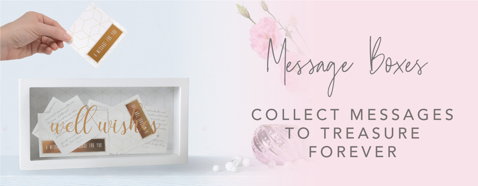 Shop our Message Boxes!