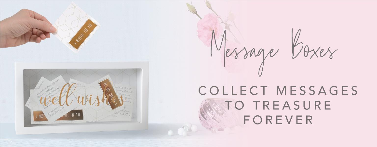 Shop our Message Boxes!