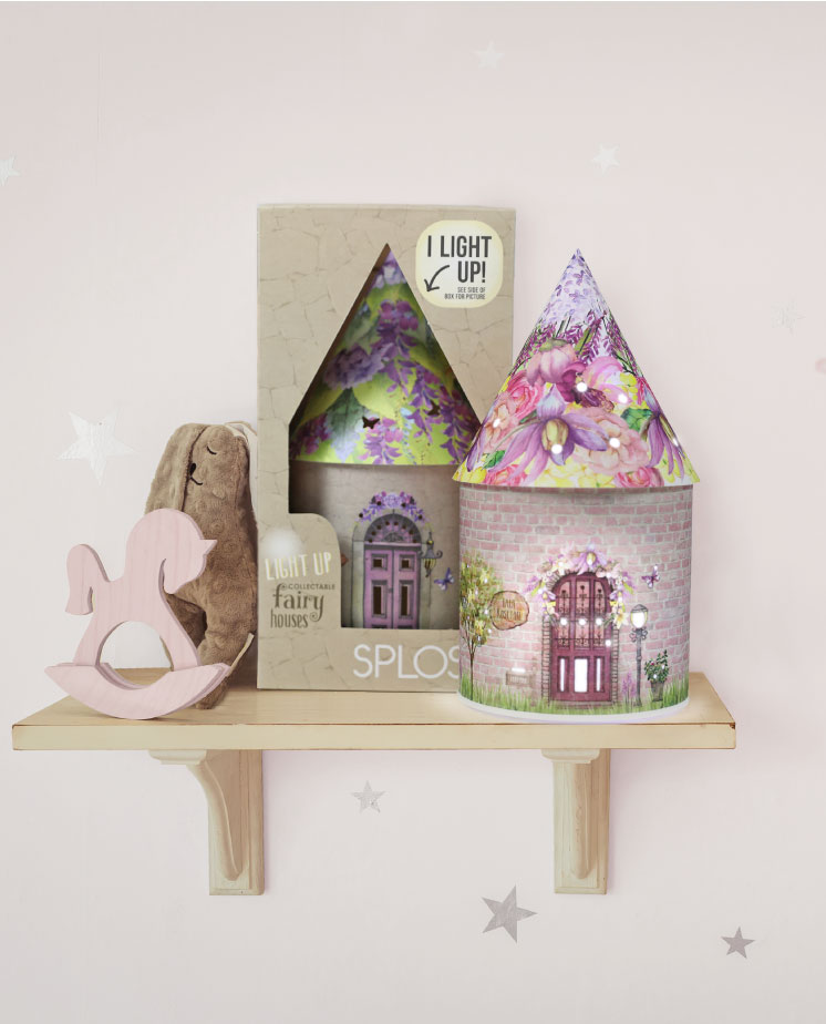 Magical LED lanterns with a custom fairy story