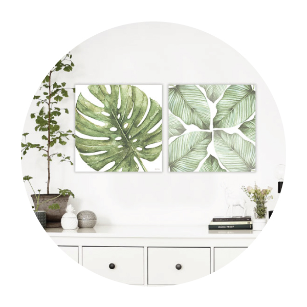 Botanical Canvas Sets