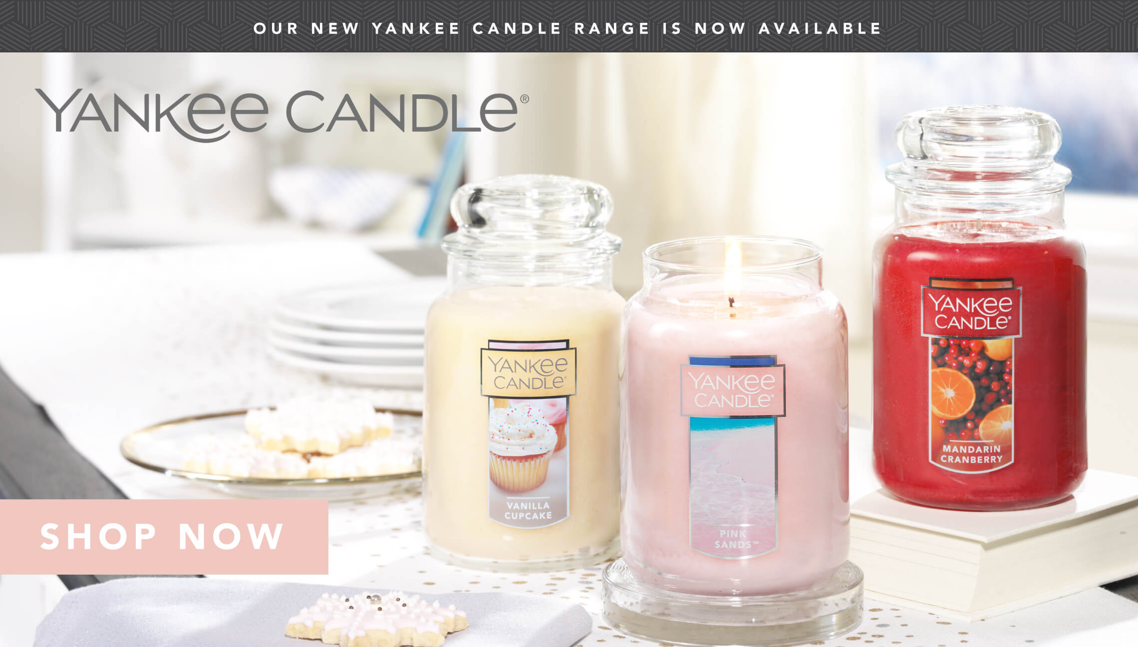 Yankee Candles now available!