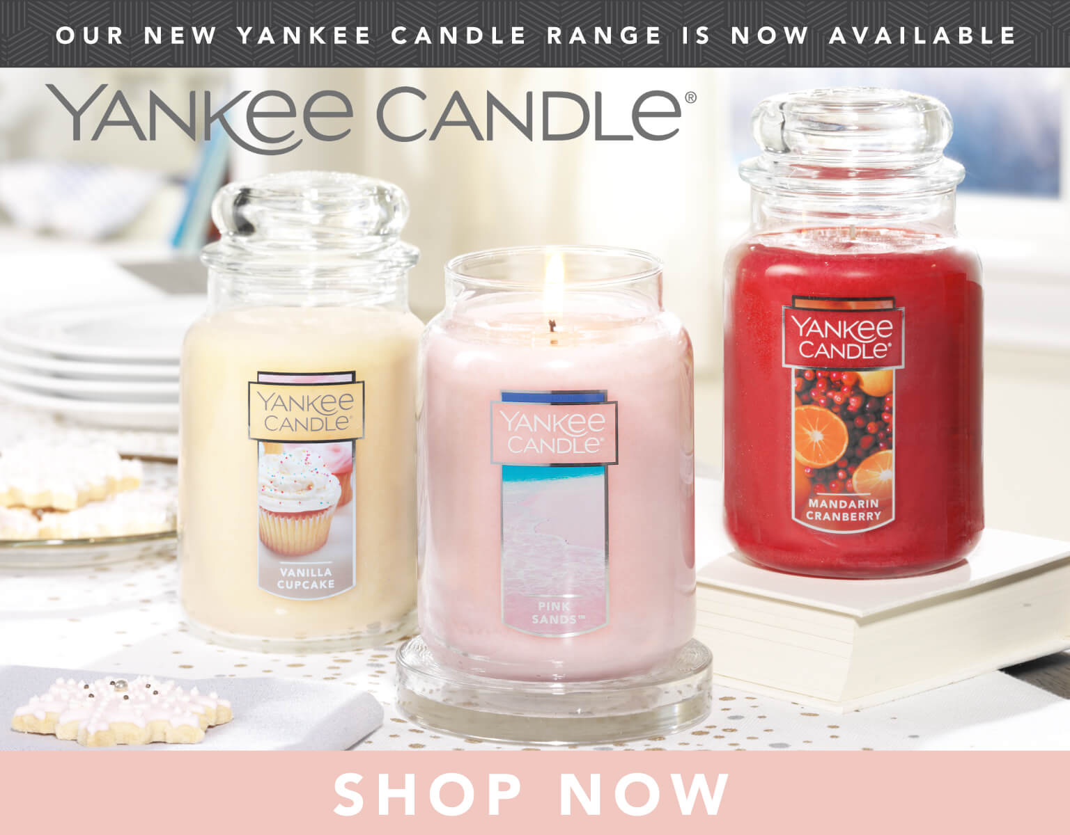 Yankee Candle now available!