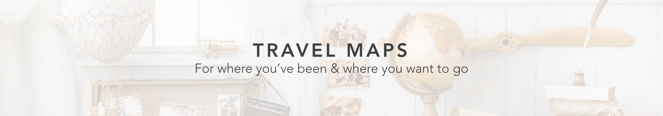 New Travel Maps now available!