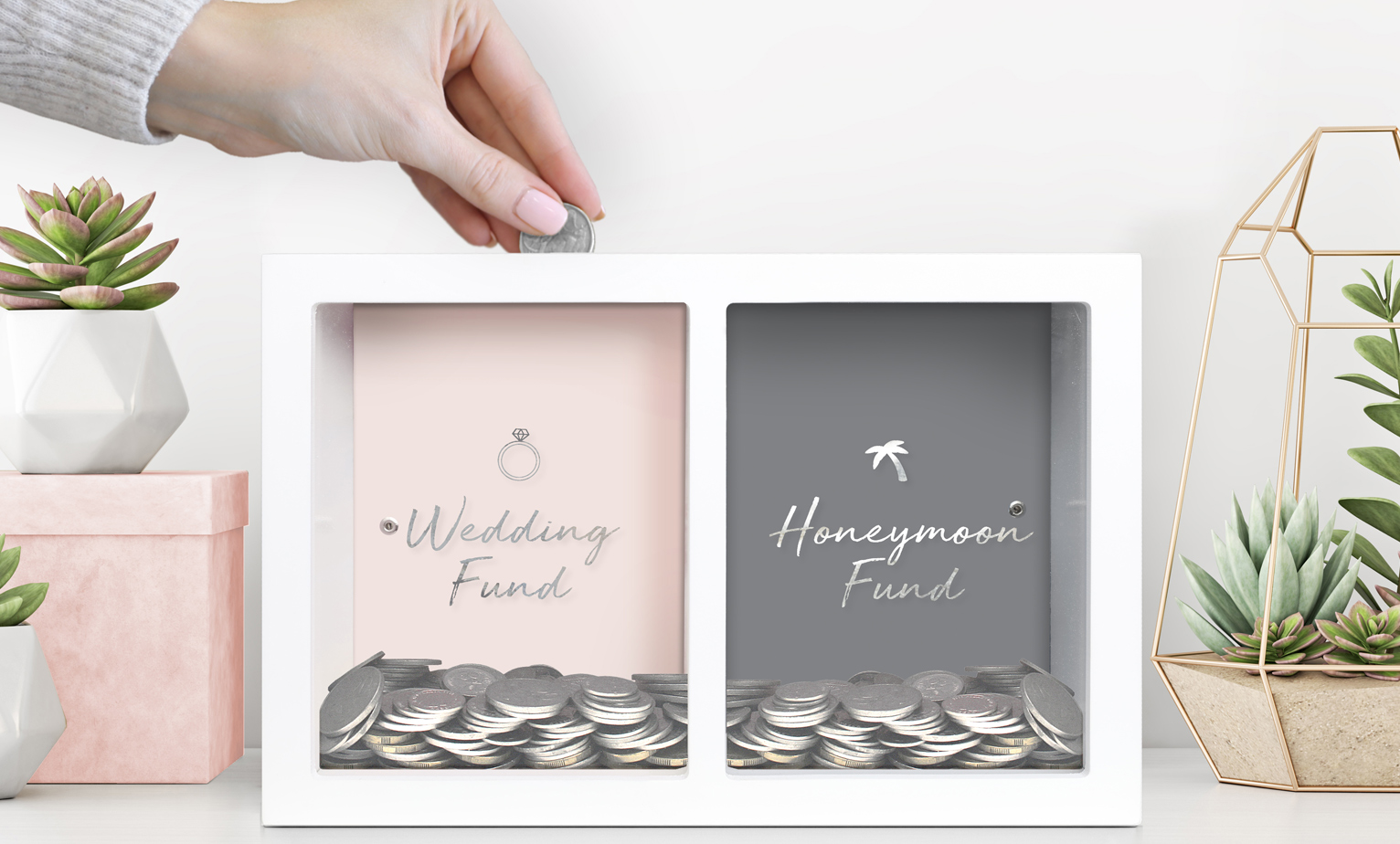 Gorgeous gifts for the happy couple