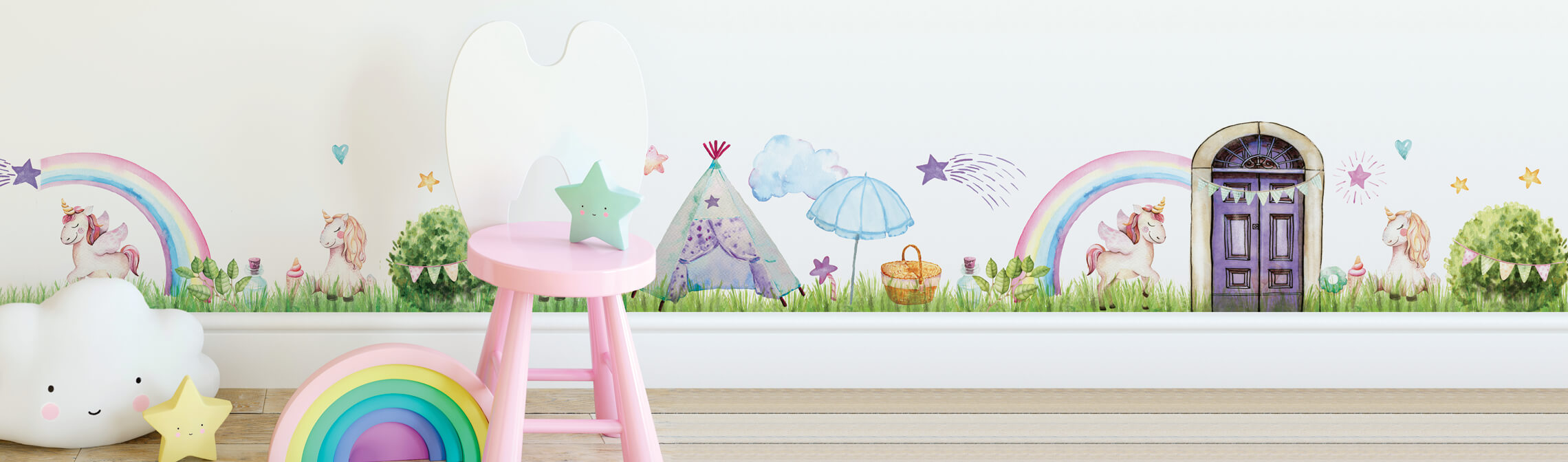 Magical Villages Wall Decals