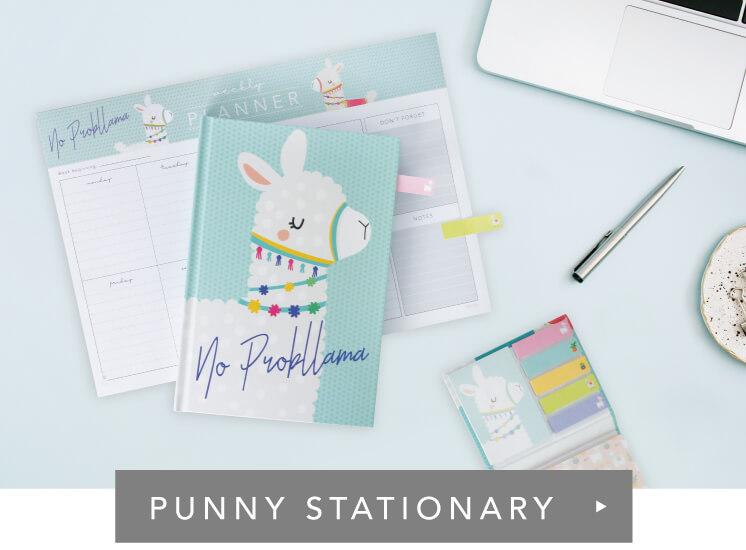 Shop Punny Stationery