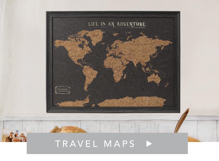 Shop Travel Maps