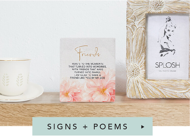 Shop Signs + Poems