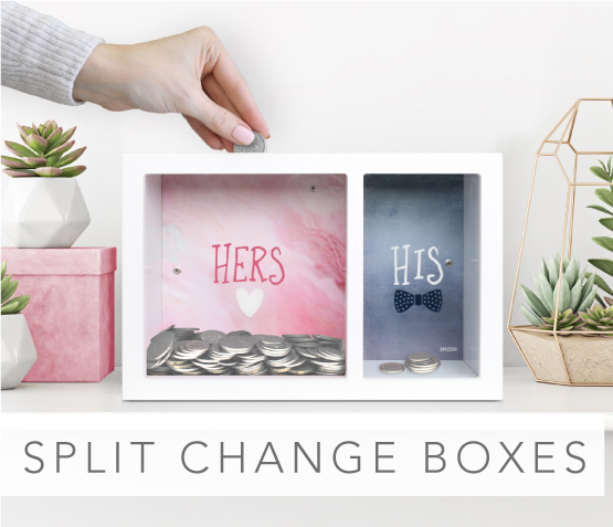 Split Change Boxes
