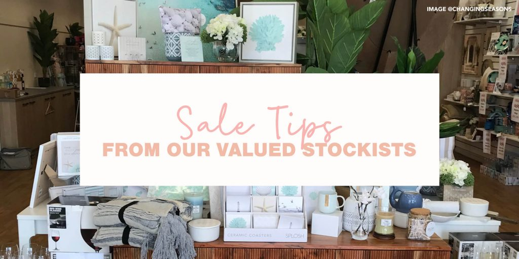 Merchandising Tips from our Valued Stockists!